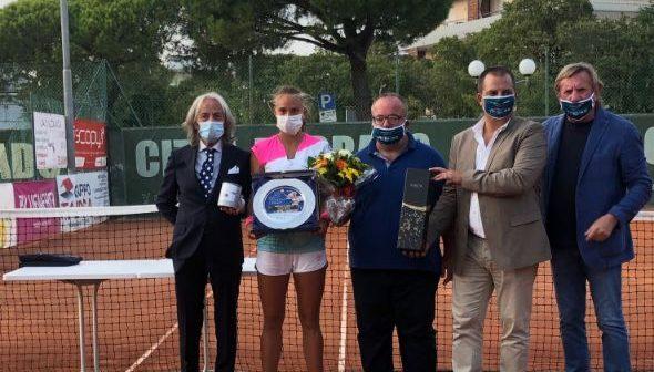 Città di Grado Tennis Cup, vince la tedesca Herrmann